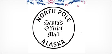 The original letter from santa since 1952 santa claus house santas official mail seal spiritdancerdesigns Gallery
