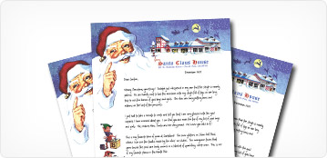 The original letter from santa since 1952 santa claus house classic santa letterhead spiritdancerdesigns Gallery