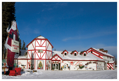 where its christmas every day - Santa North Pole