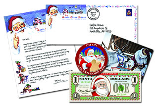 personalized santa letters santa claus house north pole alaska